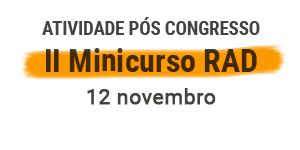 II Minicurso RAD